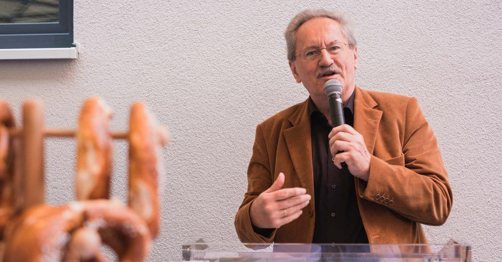 Alt-OB Christian Ude bei seiner Rede.