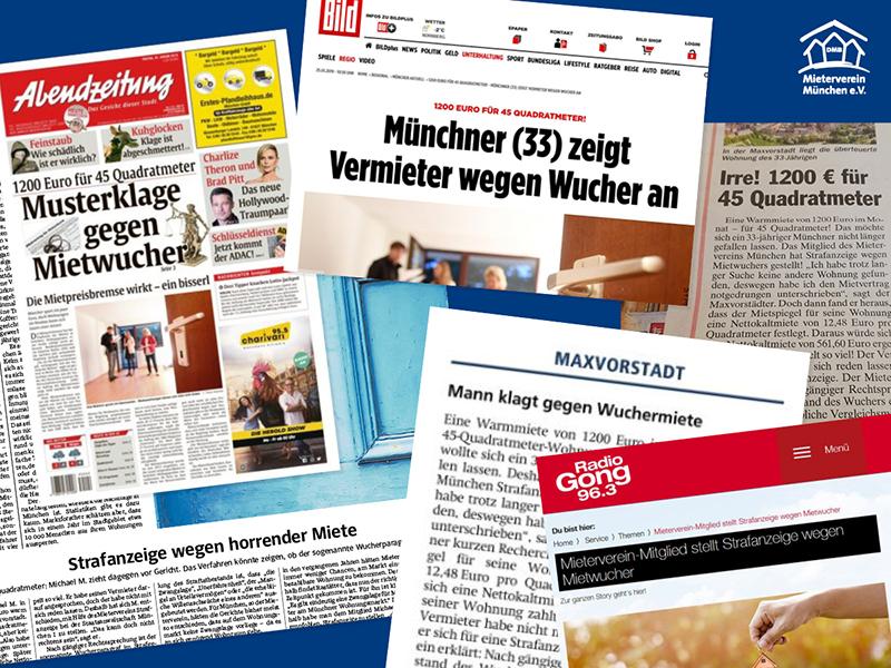 Pressemitteilung Mieterverein München 24.01.2019