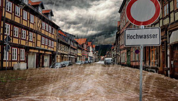 Hochwasser, ©ferkelraggae - stock.adobe.com