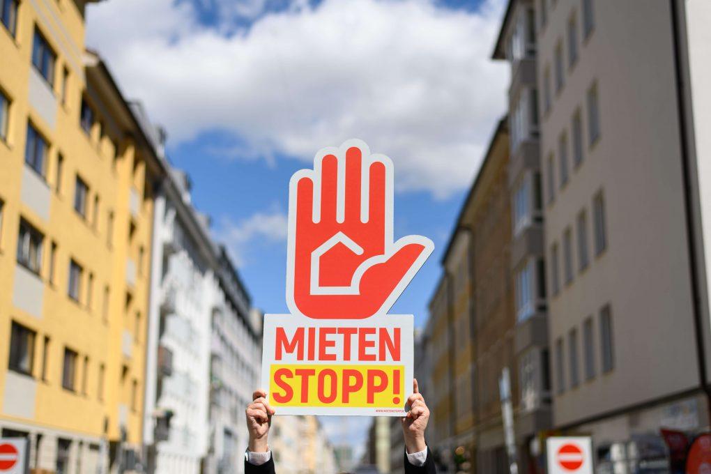 Mietenstopp-Symbolbild Kampagne Mietenstopp, Foto: Philipp-Guelland